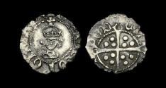 World Coins - TU-BDTW - HENRY VII - Halfpenny Ty. IIIa, 1490-1507.