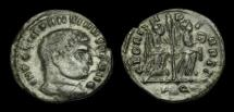 Ancient Coins - LT-FDBD - CONSTANTINE I - AE Half Follis, ca.312-3AD.             VERY-RARE