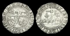 World Coins - AG-PKUF - HENRY VI - AR Grand Blanc aux ecu, ca.1422-61AD.