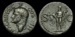 Ancient Coins - OR-FUDK - AGRIPPA - AE As, under Caligula, ca.37-41AD.