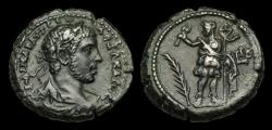 Ancient Coins - IM-WTPF - SEVERUS ALEXANDER - EGYPT, Alexandria Billon Tetradrachm. Dated Yr. 12 = 232/3AD