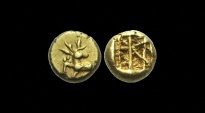 Ancient Coins - GR-FKQT - ASIA MINOR- IONIA, Ephesos. Electrum 1/12th Stater