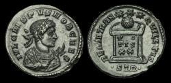 Ancient Coins - LT-WTFU - CRISPUS AE3, ca.323AD RIC394(R3). RARE
