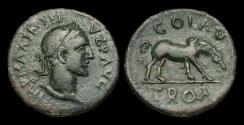 Ancient Coins - IM-WUUT - MAXIMINUS I - Troas, Alexandreia, AE24, ca.235-8AD.