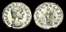 Ancient Coins - PE-FDPD - JULIA SOAEMIAS - AR Denarius, mother of Elagabalus, ca.218-22AD.