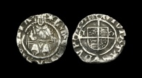 TU-KPWQ - HENRY VIII - 2nd Iss. 'Sovereign' Penny, ca.1530AD.