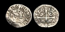 World Coins - AG-UKBF - EDWARD III - Demi Sterling, ca.1335AD.