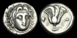 Ancient Coins - GR-UPFB - ASIA MINOR - Islands off Caria, RHODOS, Rhodes, AR Didrachm, ca.305-275BC.