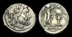 Ancient Coins - RE-BFUW - REPUBLIC - Anonymous AR Victoriatus, ca.211-208BC