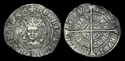 World Coins - LN-PBTU - HENRY VI - Rosette-Mascle Halfgroat, ca.1430-1AD.