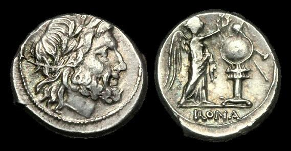 Ancient Coins - RE-BFUW - REPUBLIC - Anonymous AR Victoriatus, ca.211-208BC