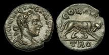 Ancient Coins - IM-JTTQ - GALLIENUS - TROAS, Alexandria, AE20, ca.253-68AD.