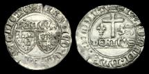 World Coins - AG-KFDJ - ANGLO-GALLIC - HENRY VI, AR Grand blanc aux ecus, ca.1422AD>.