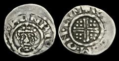 World Coins - SX-BTFU - RICHARD I - Short-X Penny Cl.3ab, ca.1190-4AD.