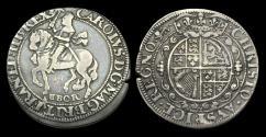 World Coins - ST-PJBQ - CHARLES I - York Halfcrown Ty. 7, ca.1644AD.
