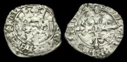 World Coins -  AG-QKBU - ANGLO-GALLIC - HENRY V 4th Iss. Florette, 16 June 1420.
