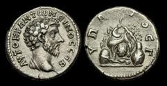Ancient Coins - IM-BJJJ - MARCUS AURELIUS - Cappadocia, Caesaraea- Eusebia AR Didrachm, ca.161-6AD
