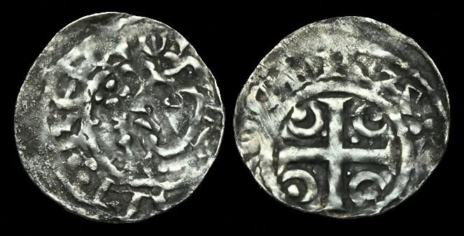 Ancient Coins - SC-FDKD - WILLIAM I (the Lion) - Crescent + Pellet Ty. II Penny