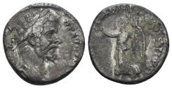Ancient Coins - Septimius Severus. 193-211 AD. AR Denarius (3.53 gm, 16mm). Struck 195-196 AD. RIC III 64