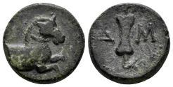 Ancient Coins - Pamphylia. Aspendos. Circa 400-200 BC. AE 17mm (4.68 gm). SNG Copenhagen 253; SNG BN 126-8