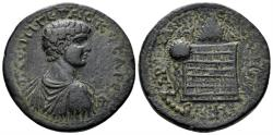Ancient Coins - Pontos, Amasia. Geta (Caesar, 198-209). AE 30mm (16.74 gm). Dated CY 208 (208/9). RG 96