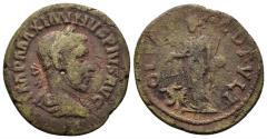 Ancient Coins - Thrace, Deultum. Maximinus I. 235-238 AD. AE 24mm (6.62 gm). Jurukova 184; Varbanov 2028