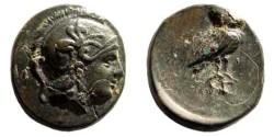 Ancient Coins - Aiolis, Neonteichos. 2nd century BC. AE 11mm (1.29 gm). SNG Copenhagen 244