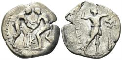 Ancient Coins - Pisidia, Selge. Circa 325-250 BC. AR Stater (8.61 gm, 24mm). SNG France 1941-3