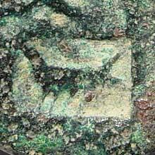 Ancient Coins - Samaria, Sebaste. Domitian. As Caesar, 69-81 AD (?). AE 23mm (13.74 gm). Two Roman military countermarks; emblems for X Fretensis