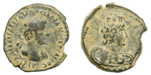Ancient Coins - Syria, Decapolis. Bostra. Hadrian. 117-138 AD. AE 21mm (6.59 gm). Kindler 16; Spijkerman 1; Rosenberger 1 (Arabia); SNG ANS 1168