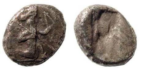 Ancient Coins - Achaemenid Kings, ca. 480-420 BC, Siglos. SNG Kayan 1030