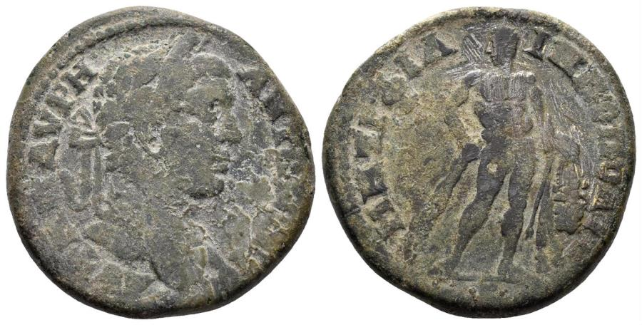 Ancient Coins - Thrace. Philippopolis. Elagabalus. 218-222 AD. AE 29mm (16.50 gm). Varbanov -