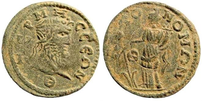 Ancient Coins - Pisidia, Termessos. 3rd century AD. AE 30mm (11.65 gm). SNG BN Paris 2202 (same obverse die)