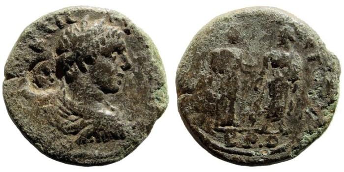Ancient Coins - Cilicia, Flaviopolis. Alexander Severus. 222-235 AD. AE 25mm (12.22 gm). SNG PFPS 512