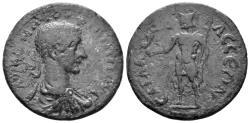 Ancient Coins - Pisidia, Sagalassos. Philip II. 247-249 AD. AE 28mm (10.25 gm). SNG France 1821. Lacedemon