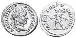 Ancient Coins - Caracalla. 198-217 AD. AR Denarius (3.13 gm, 19mm). Rome mint. Struck 212/3 AD. RIC IV 223