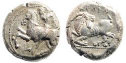 Ancient Coins - Kilikia, Kelenderis. Circa 430-420 BC. AR Stater (10.65 gm, 20mm). SNG France 51