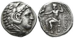 Ancient Coins - Macedonian Kingdom. Alexander III 'the Great'. 336-323 BC. AR Tetradrachm (17.16 gm, 23mm). Amphipolis mint. Price 132