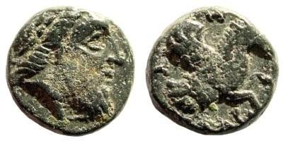Ancient Coins - Mysia, Adramytteion,  4th century BC, AE 11mm (1.69 gm.). H. von Fritze, Nomisma 5 (1913), S. 11, 1 und Taf. 1, 4