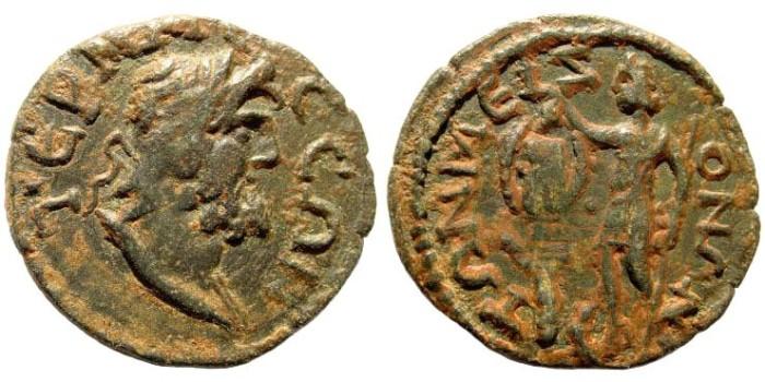 Ancient Coins - Pisidia, Termessos Major. 3rd century AD. AE 27mm (6.26 gm). SNG von Aulock 5358