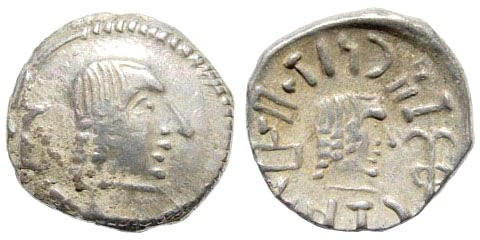 Ancient Coins - Arabia Felix. Himyarites. Tha'ran Ya'ub. Circa 50-150 AD. Raidan mint. BMC Arabia, pg. 73, #2