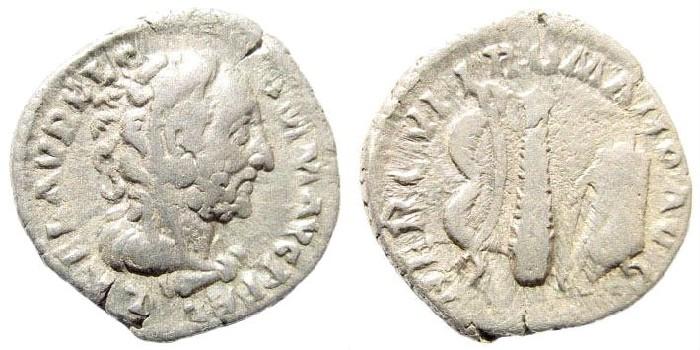 Ancient Coins - Commodus, 177-192 AD. AR Denarius (2.63 g, 18mm, 12h). Struck AD 192. RIC III 253; MIR 18, 857-4/72; RSC 195