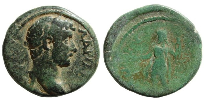 Ancient Coins - Pamphylia, Side. Hadrian.117-138 AD. AE 25mm (10.00 gm.). SNG PFPS 655