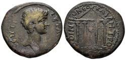 Ancient Coins - Pontos, Neokaisareia. Geta, as Caesar, 198-209 AD. AE30 - Tetrassarion (14.70 gm). Cf. SNG von Aulock 103