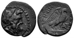 Ancient Coins - Macedon, Thessalonika. Circa 187-168/7 BC. AE 22mm (6.09 gm). Cf. HGC 3.1, 729