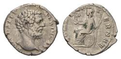 Ancient Coins - Clodius Albinus, as Caesar. 193-195 AD. AR Denarius (2.99 gm, 18mm). Rome mint. RIC IV 11a