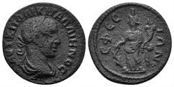 Ancient Coins - Ionia, Ephesus. Gallienus. 253-268 AD. AE 20mm (3.71 gm). Cf. SNG Copenhagen 526