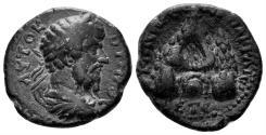 Ancient Coins - Cappadocia, Caesarea. Lucius Verus. 161-169 AD. AE 21mm (7.02 gm). Dated RY 5 (165 AD). Sydenham, Caesarea Supp. 359c var.