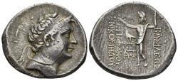 Ancient Coins - Bithynian Kingdom. Nikomedes III Euergetes, 127-94 BC. AR Tetradrachm (13.68 gm, 33mm). Dated 199 BE (100/99 BC). HGC 7, 645