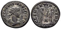 Ancient Coins - Numerian 282-284 AD. AE Silvered Antonianus (3.71 gm, 21mm). Cyzicus mint. RIC V/2, 201, 463 var.
